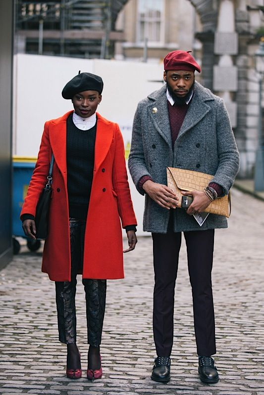 Don't think I would ever dress like them, but their outfits are fresh!