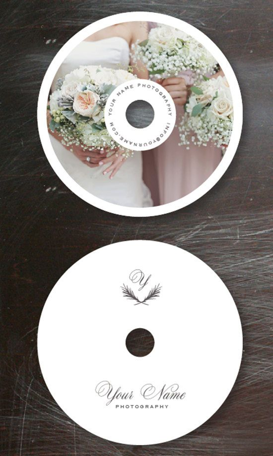 Wedding Photographer Templates - Photo DVD Templates (digital PSD files) - m0054