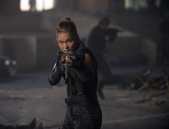 Ronda Rousey as Luna in The Expendables 3 (2014)