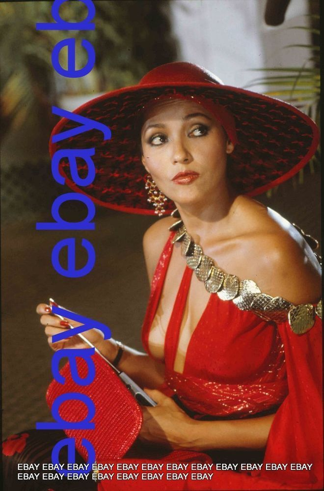 barbara carrera never say never 007 james bond red hat