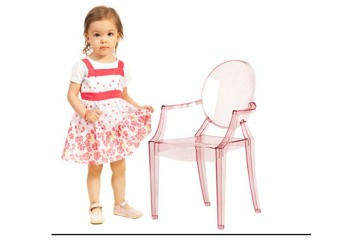 children\'s lou lou ghost chair by Kartell http://www.nestdallas ...