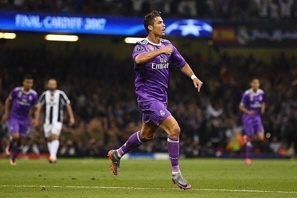 Cristiano Ronaldo made history on Saturday as he scored two goals to help Real Madrid to a 4-1 win over Juventus in the 2017 UEFA Champions League final  With the win Real Madrid became the first ever team to win the Champions League in successive years in this era.  Zinedine Zidanes men also created history with this win which was also the clubs first ever Champions League  La Liga double since 1958.  Ronaldo gave Real Madrid the lead in the 20th minute when he found the bottom corner with…