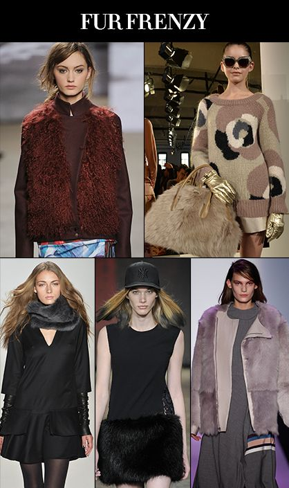 Fall 2014 Runway Trends: Fur Frenzy #nyfw