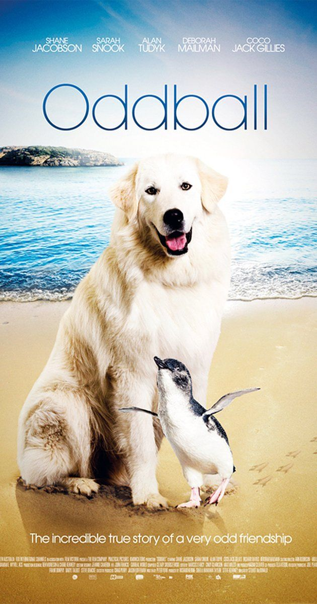 """Directed by Stuart McDonald.  With Alan Tudyk, Sarah Snook, Coco Jack Gillies, Shane Jacobson. The story of Allan """"Swampy"""" Marsh and his Maremma dog Oddball. Swampy convinced local authorities to allow Oddball to protect a colony of Little Penguins on Middle Island from wild cats and dogs. Oddball succeeds in his campaign and becomes a front runner for Maremma dogs being used to protect other endangered Australian wildlife."""