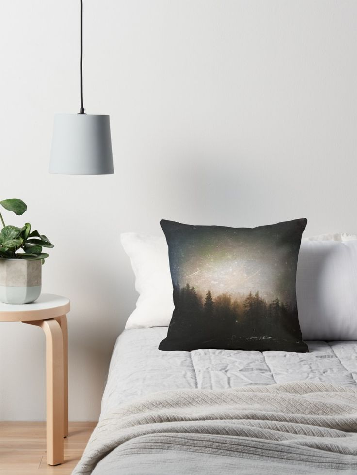 'The grudge' Throw Pillow by HappyMelvin. #photography #forests #nature #homedecor #pillows