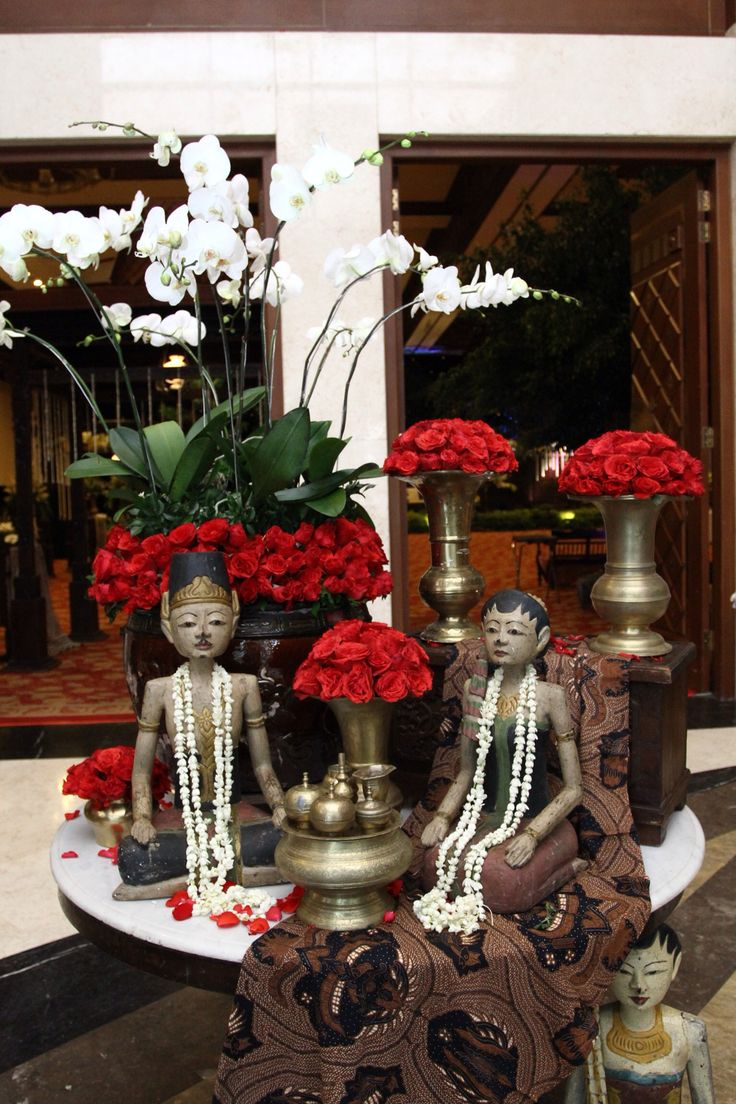 Javanese wedding decoration (Foyer Area)