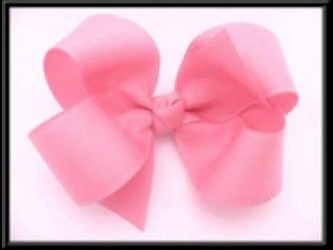 How To Make A Boutique Hair Bow (Updated Video/No Sewing)