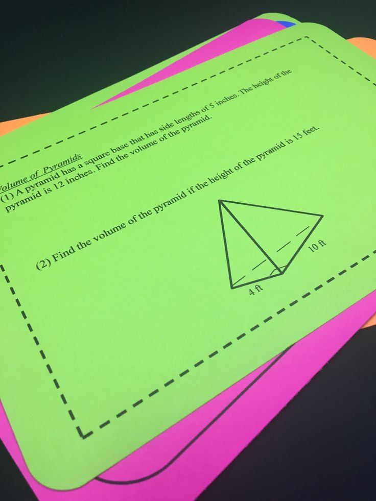This unit of Volume and Surface Area Task Cards is $1 for the #mathdollardeals on Tuesday, July 11th! Includes finding the volume and surface area of various 3-dimensional figures!