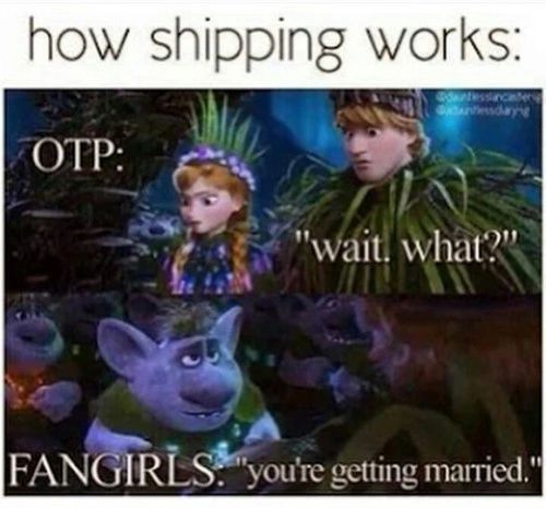 # when friends start shipping you Aaaahhhh and does in front of your crush