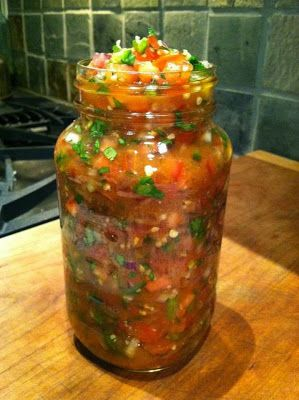 HOW TO COOK WITH THE BEST AMERICAN CHEF: Easy salsa recipe