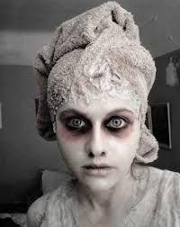 """Résultat de recherche d'images pour """"maquillage zombie facile"""""""
