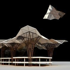 #nextarch by @dmdesigns__ #next_top_architects Roof Canopy / Structural Development / Generation 5 Airports✈️...