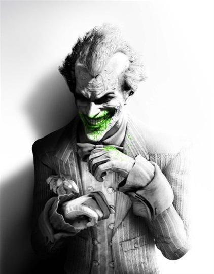Joker Batman Arkham city concept art