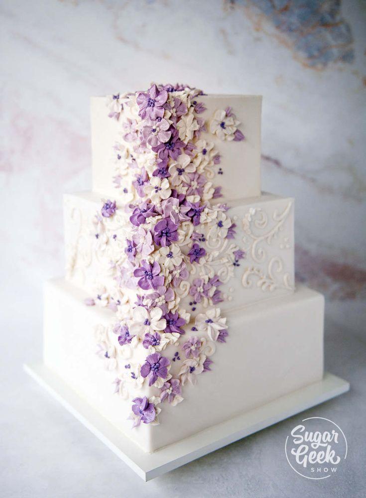 Wie ich meine größte Hochzeitstorte-Katastrophe wieder herstellte   – Cakes – Wedding tutorial and recipes