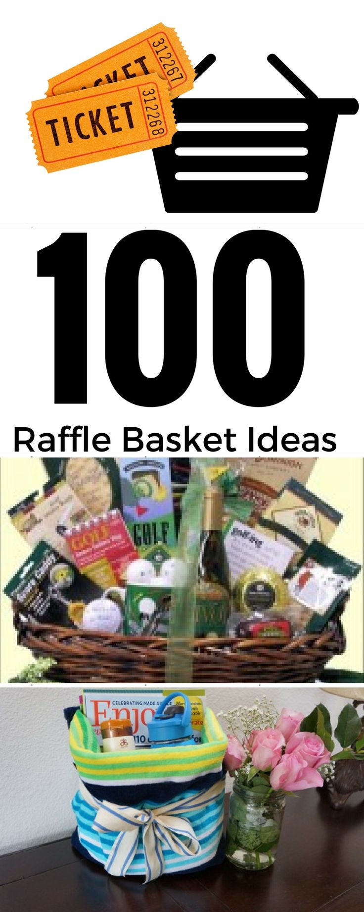 100 Fall Festival Raffle Basket Ideas - The Auction Basket List. Good ideas on this list like a quilt with Little House on the Prairie books.
