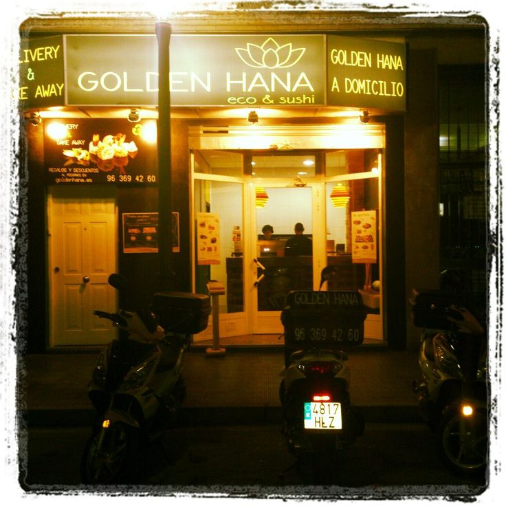 Local de Golden Hana Sushi a Domicilio