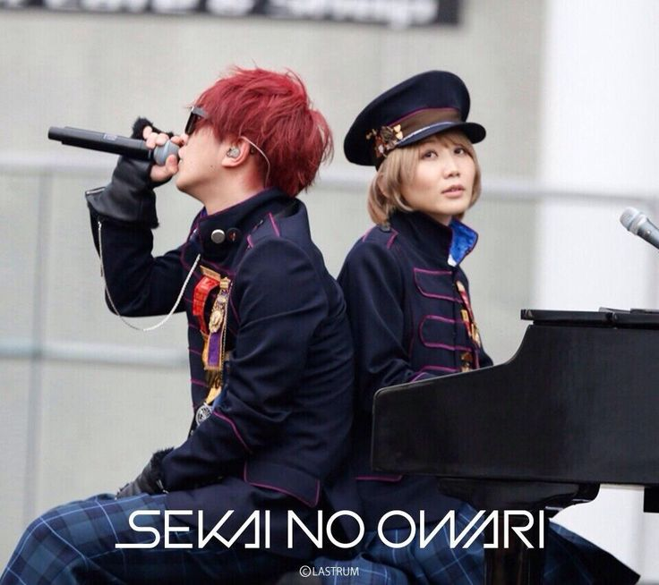 SEKAI NO OWARI - Saori & Fukase