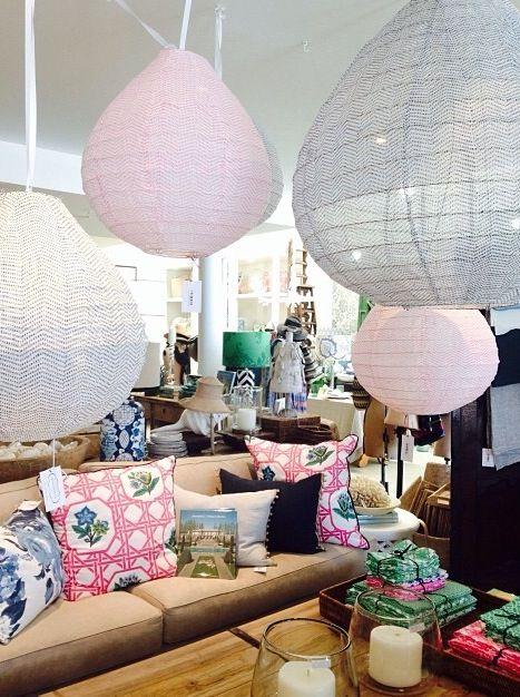 Miracles de coton #love #magnolia #cotton #lanterns #homewares #french #interiors #design #cushions #linen #magnoliainteriors