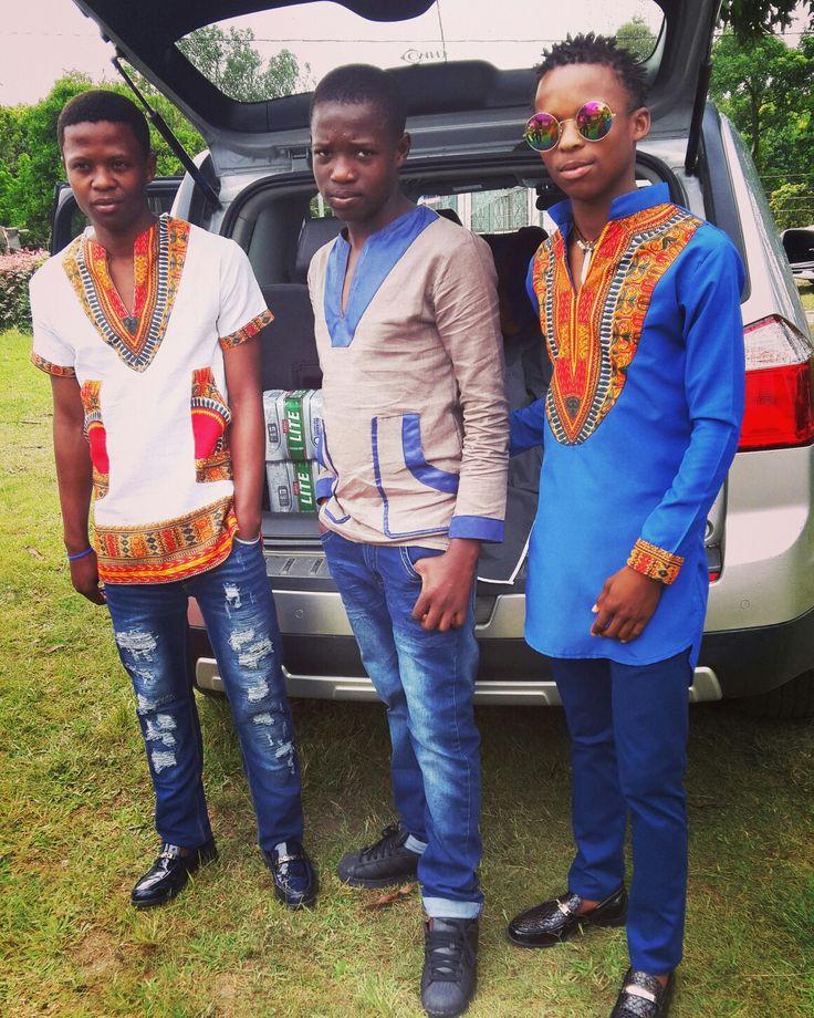 Shirts made by Sabela Sizwe Designs