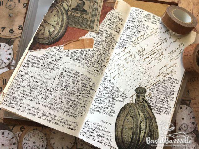Midori Traveler's Notebook, TNB, Journal, Organizer, Diary, Stampin Up, SU, Berlin, Vintage, Vintagestyle, stempeln, stanzen, staunen, traveler, Reisen