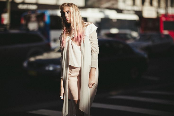 Capelet & Top by Samantha Aravopoulos, Styling by Harmony Hearsey