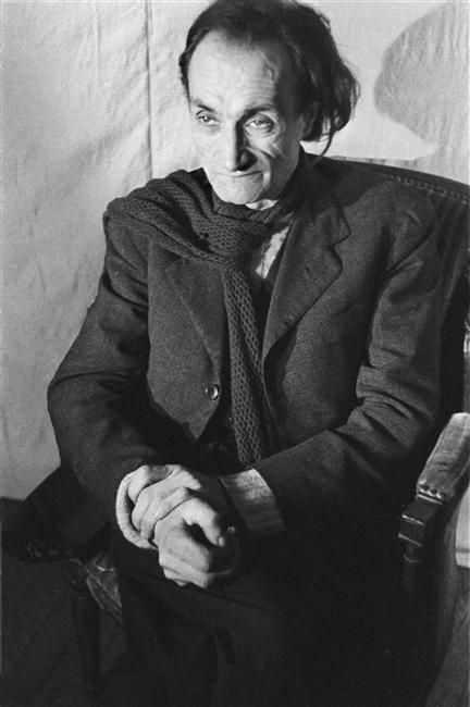 Denise COLOMB :: Antinin Artaud, 1947 [Artists' portraits series]