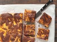 Brownies à la citrouille épicée