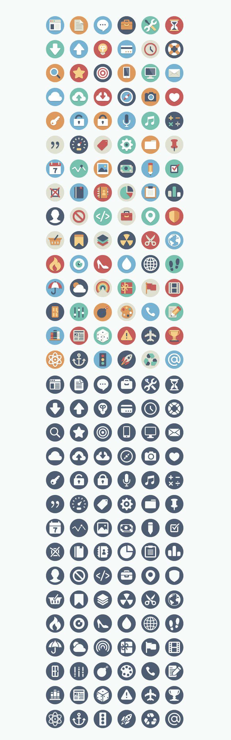 #Free Flat Icons