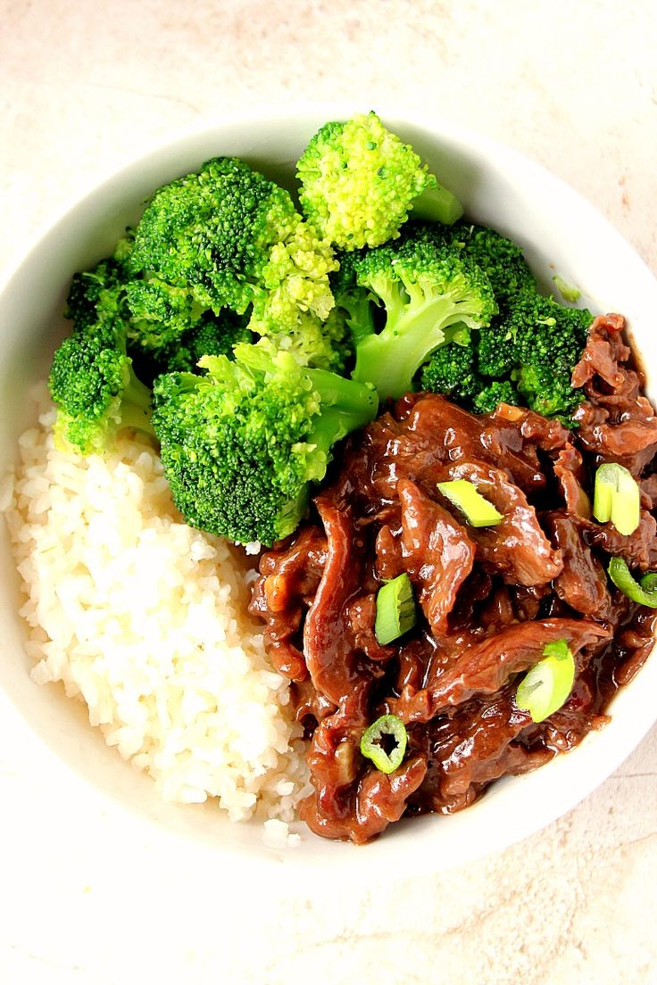 Quick Mongolian Beef And Broccoli Rice Bowls  Recipe  Fave Meal -5819