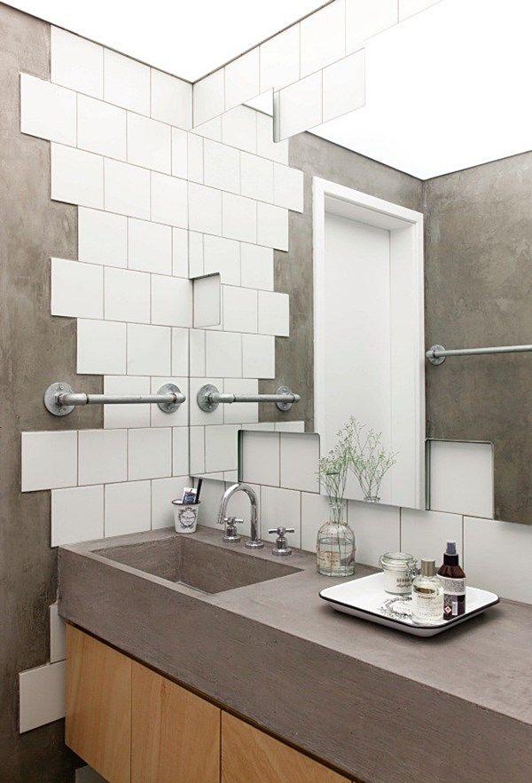 Detalhes originais ou inusitados em 10 banheiros e lavabos