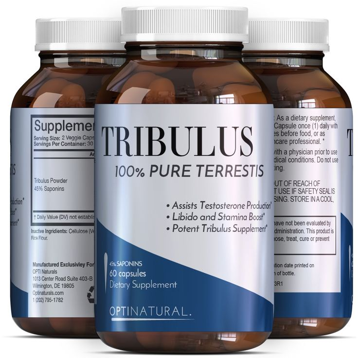 Potent Natural Tribulus Terrestris Extract Supplements - Burn Belly Fat - Build Muscle Pills - Enhance Weight Training - Boost Libido - Male Enhancement Capsules - Tribulus Extreme - Opti Natural * See this awesome image  : Herbal Supplements