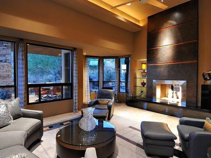 Cozy Modern Living Room Custom Inspiration Design