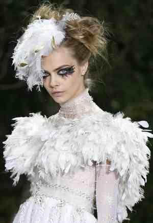Couture bride makeup