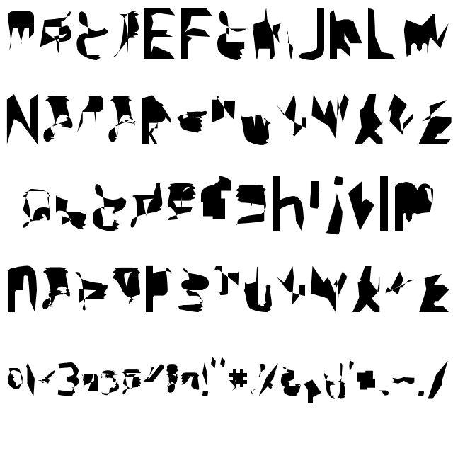 bitstorm supercondensed Font