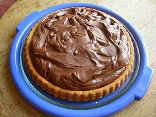 Giant Jaffa Cake.  A Gary Rhodes recipe - I've made it several times & it's delicious!!