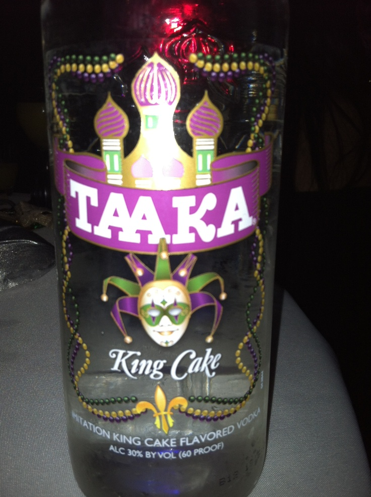 King Cake Flavored Vodka Recipes