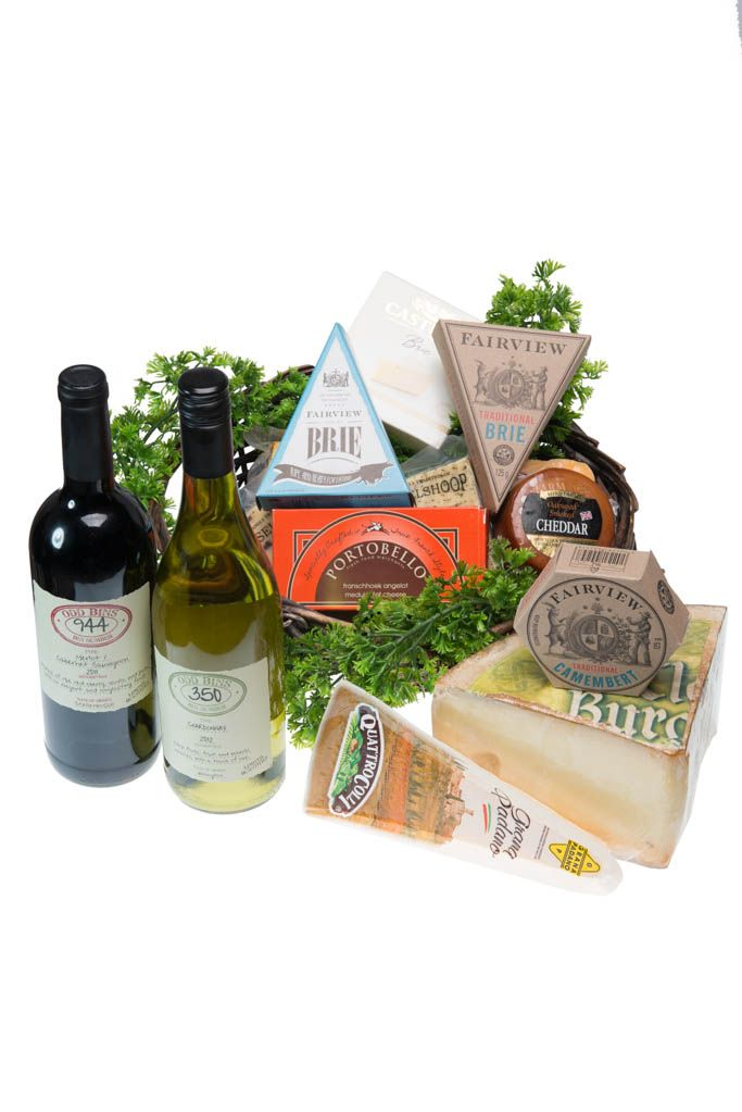 A selection of wine and cheese. Checkers Hyper & Liquor - 014 537 6900