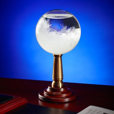 The HMS Beagle Admiral's Storm Glass - Hammacher Schlemmer
