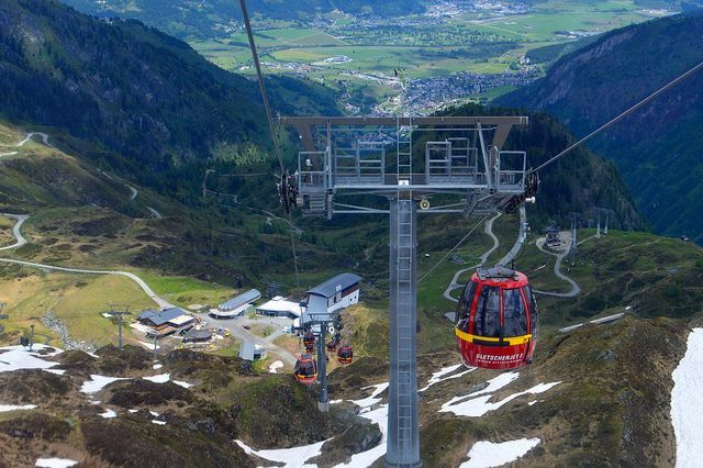Travel Post - Austria - Kitzsteinhorn Glacier