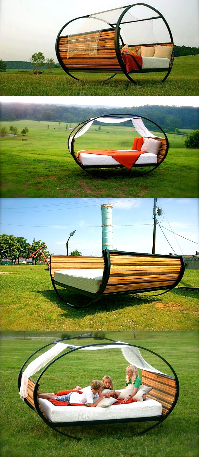 Mood Rocking Bed - Joe Manus of Shiner International  http://shinerinternational.com/wordpress/?p=31