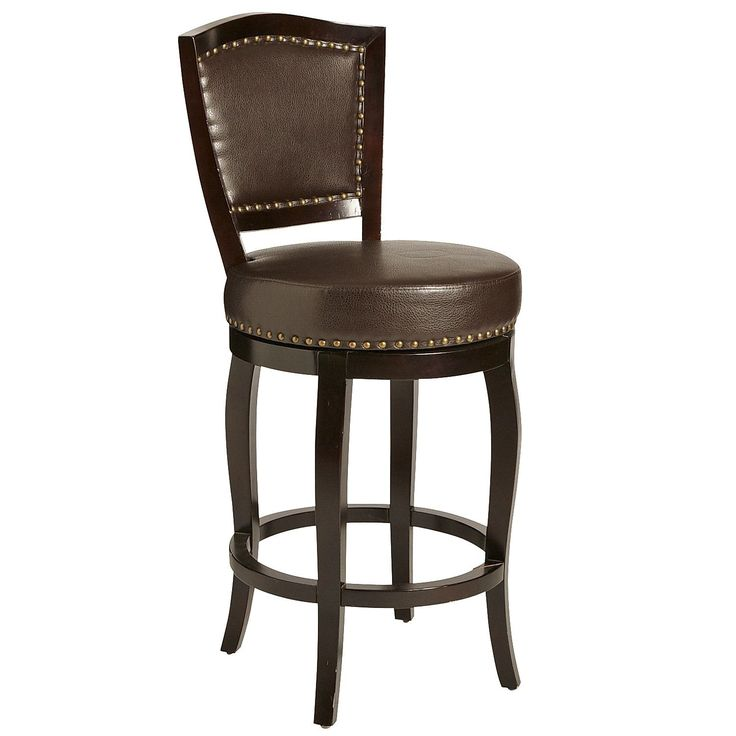 Billings Brown Swivel Counter Amp Bar Stool Brown Pier 1