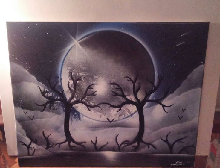 spray paint art by Paintdaddyart on Etsy