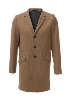 Пальто Only & Sons, цвет: бежевый. Артикул: ON013EMJSE95. Мужская одежда / Верхняя одежда / Пальто