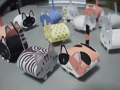 I remember these guys! I made dozens of them when I was younger, they decorated everything!