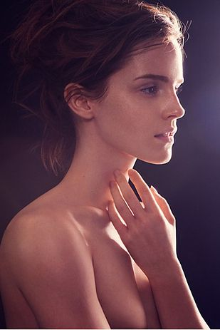 When she stripped down to do a photo shoot for a book called Natural Beauty, with a purpose of raising money and awareness for environmental issues. | The 28 Most Flawless Emma Watson Moments Of 2013