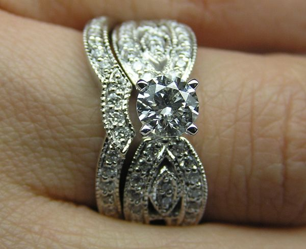 western wedding rings - Google Search
