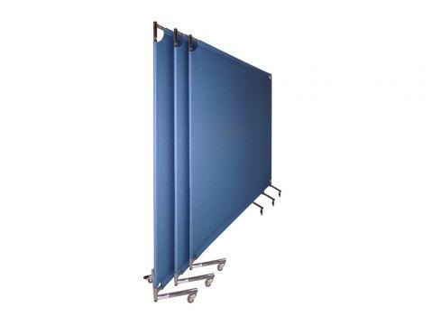 Pannelli divisori KAMP con tessuto #divisorio #openspace