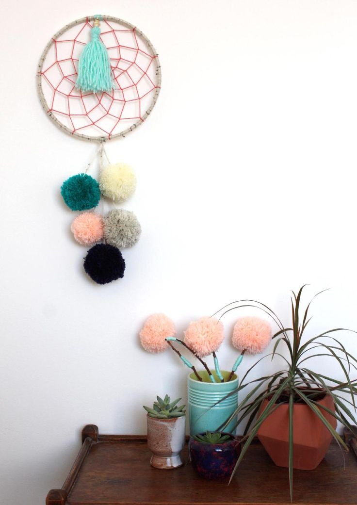 91 Magazine - Issue 7 by 91 Magazine - Pom Pom projects! Love the sticks with them at the top, reminds me of that dr suess book!