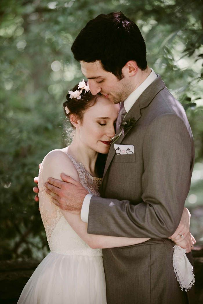 Lovely Enchanting Jewish Wedding in Cleveland Ohio bride wearing gorgeous Leanne Marshall gown from Something White A Bridal Boutique Independence Ohio