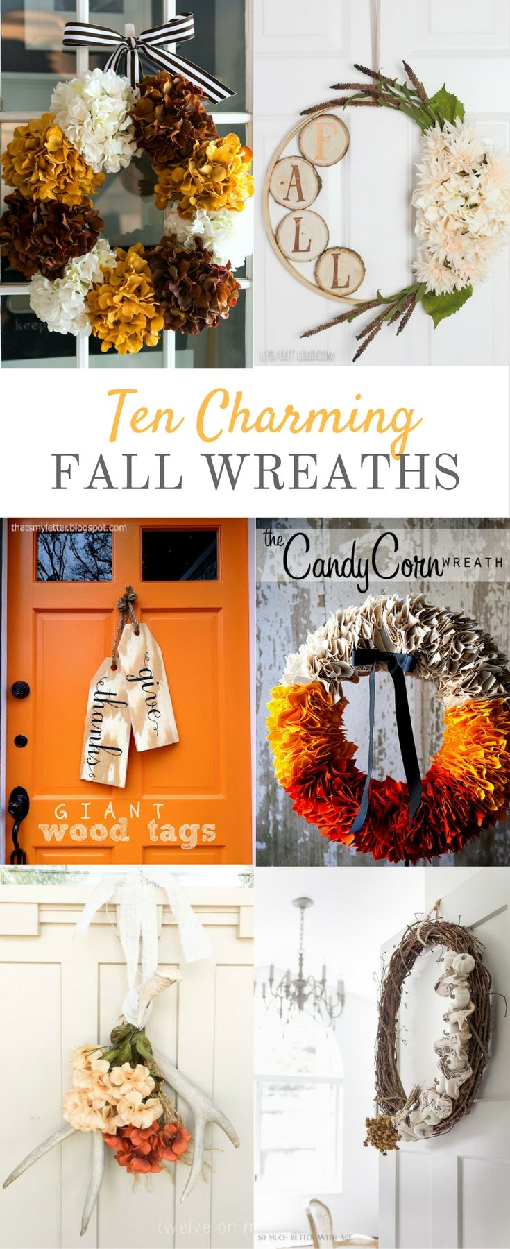 193 best DIY Fall home decor images on Pinterest | Bricolage, Fall ...